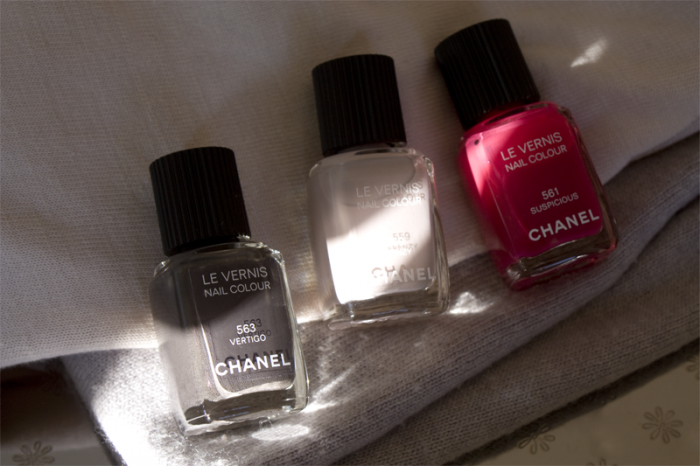 Chanel Autmn/Winter Nails 2012