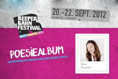 Reeperbahn FestivalPoesiealbum