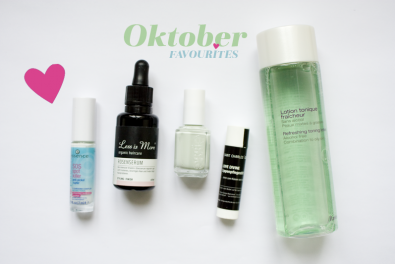 Monthly favourites: October