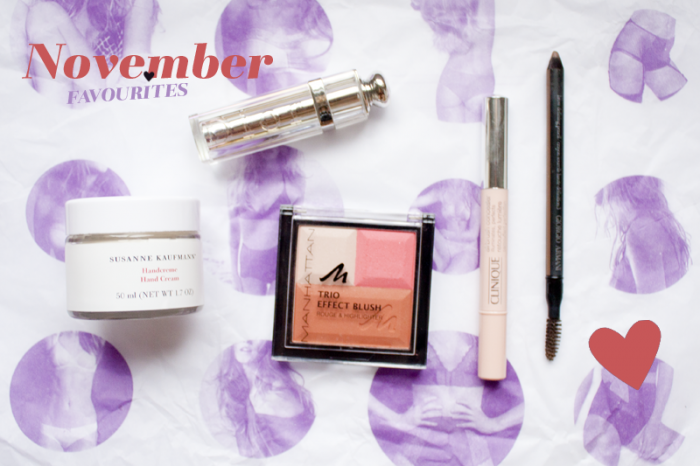 Monthly Favourites November 12