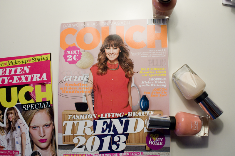 Foxycheeks // COUCH Magazine Jan 2013