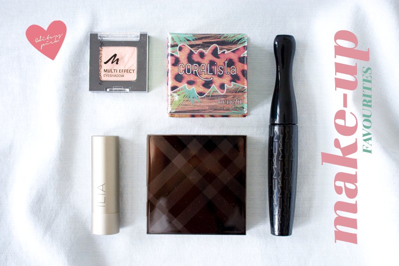 Favourites July/August 2013Make-up