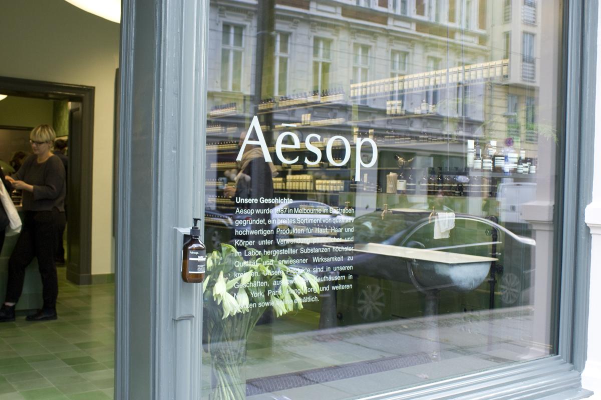 Aesop Store Berlin Mitte