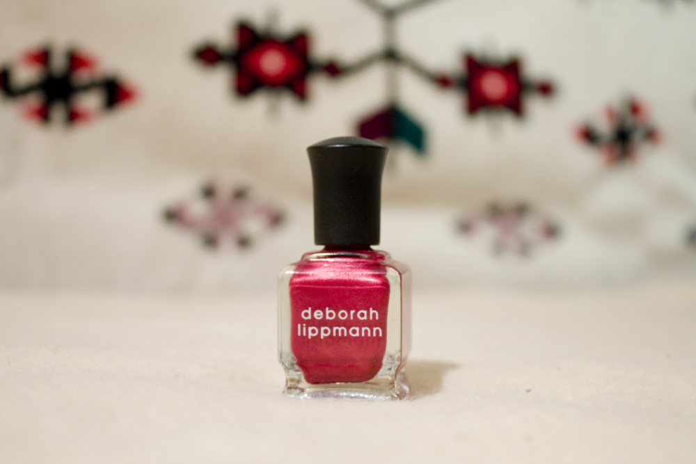 Deborah Lippmann // Red Silk Boxers