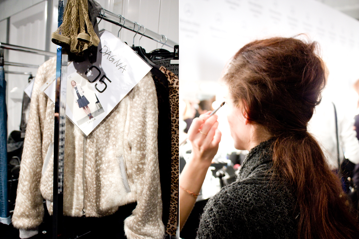 Mercedes Benz Fashion Week Berlin // MARCCAIN Backstage