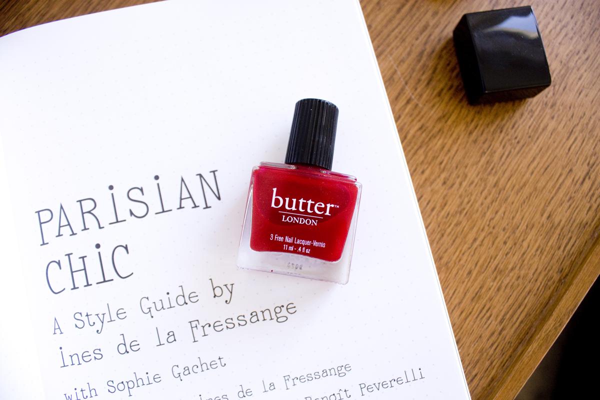 Parisian Chic Book // Butter London