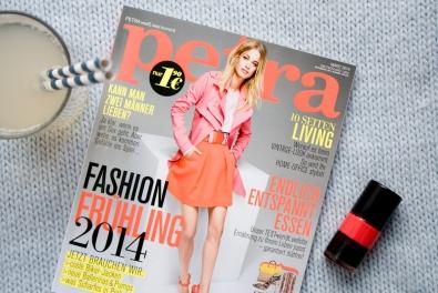 Petra Magazin März 2014 // Foxycheeks BLOG SPOT Feature
