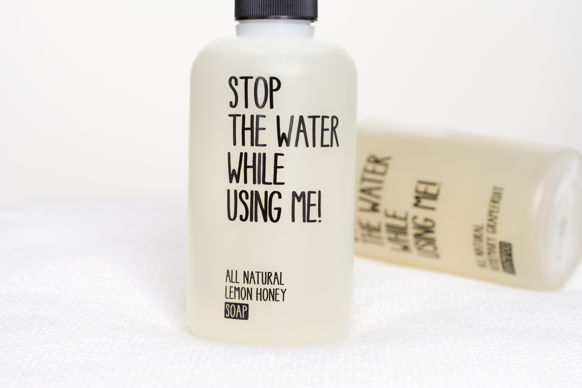 Stop the water while uing me / Foxycheeks