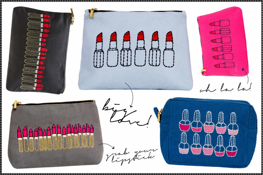 Sew Lomax Beauty Bags