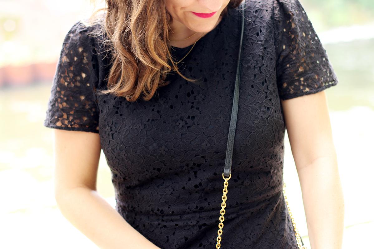 Oasis Black Dress