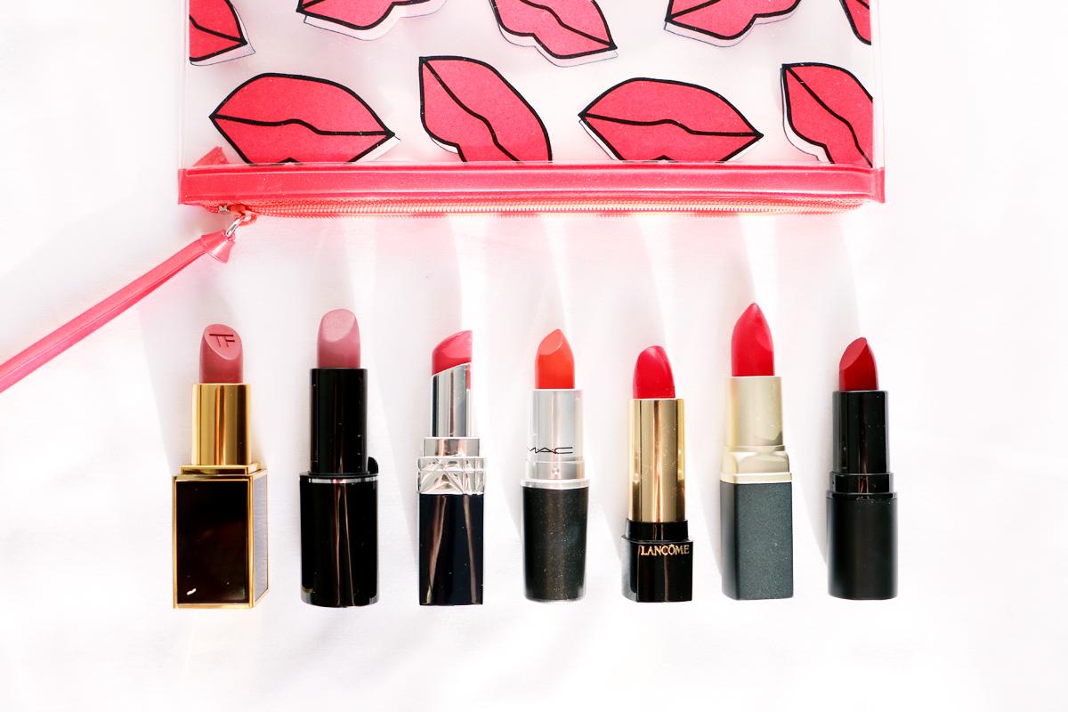 Lipsticks New Nude Red