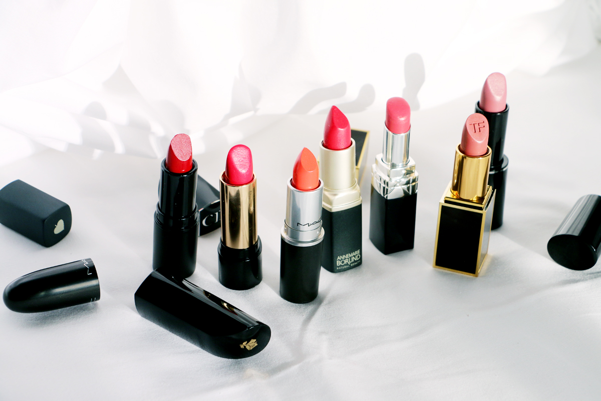 New Lipsticks - Red & Nudes