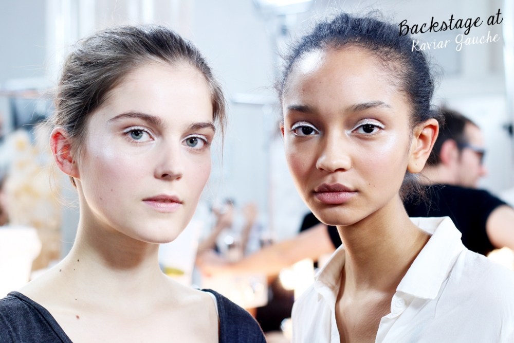 Backstage Kaviar Gauche / Foxycheeks / Fashionweek Berlin