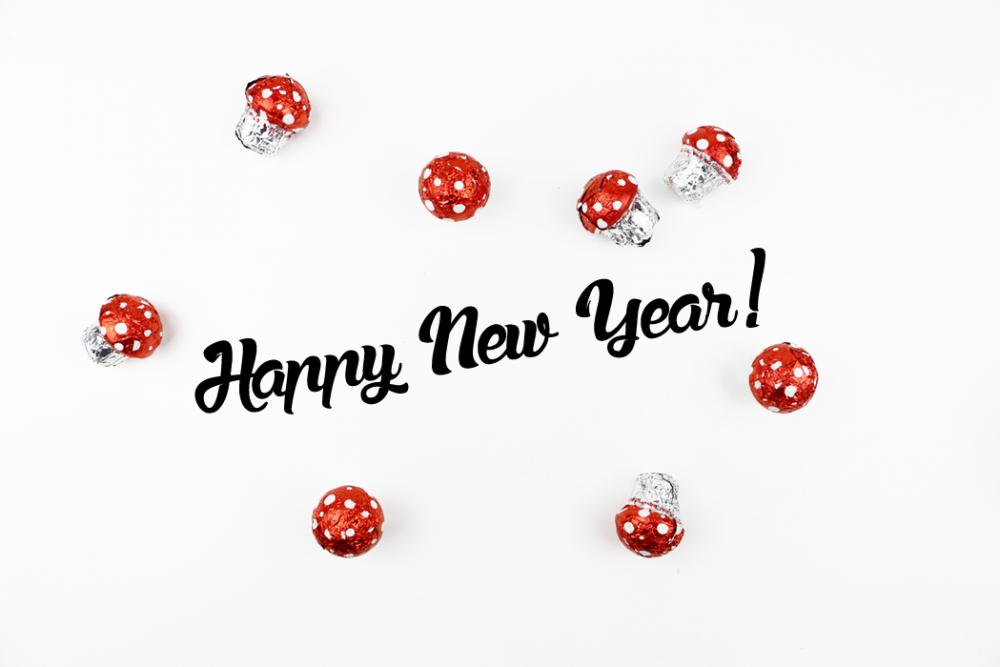 Happy New Year 2015 / Foxycheeks