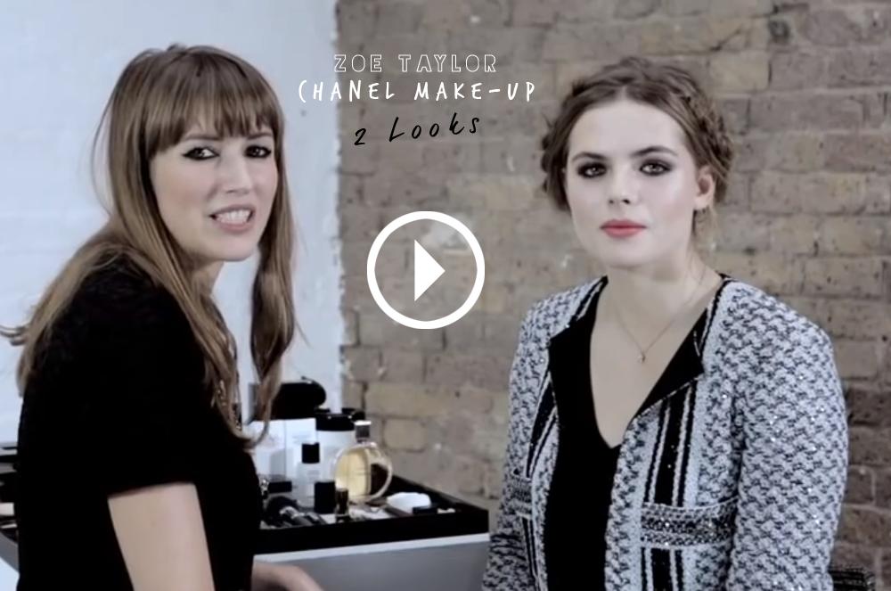 VOGUE Uk – Chanel Make Up Look / Foxycheeks