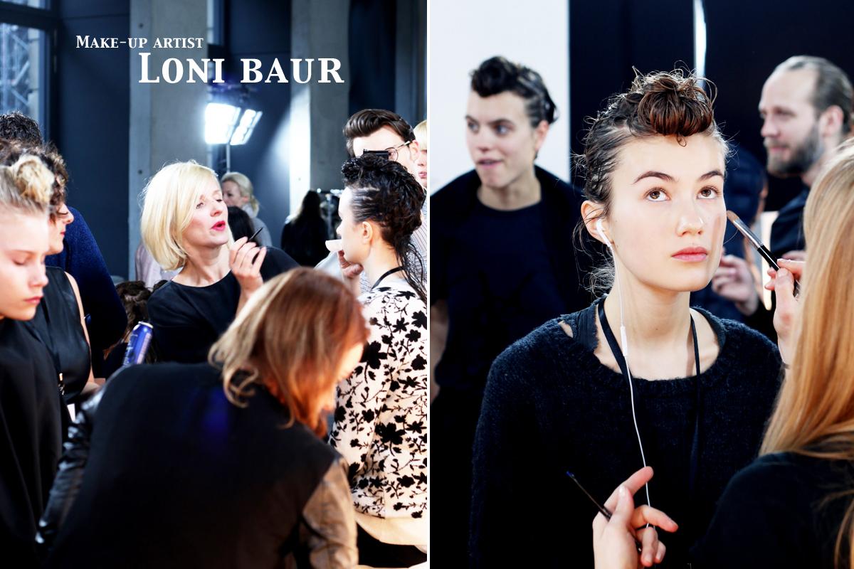 Fashionweek Berlin / Backstage Capara / Foxycheeks
