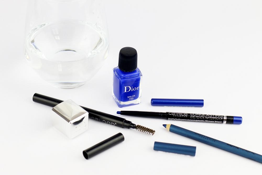 Inspired by Capara / Blue Make-up / Blue Eyeliner