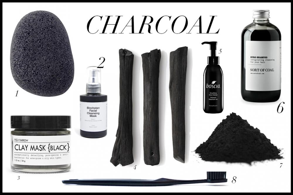 Charcoal Beauty Trend / Foxycheeks