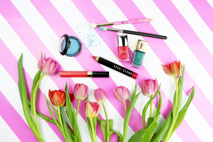 Breuninger Magazin / Color Pop / Hanna Schumi / BeautyMake-up
