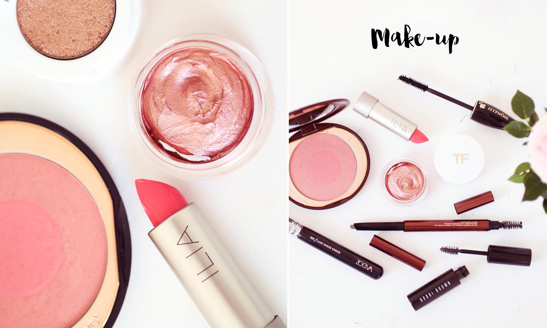 Rosy Summer Make-up Look / Foxycheeks