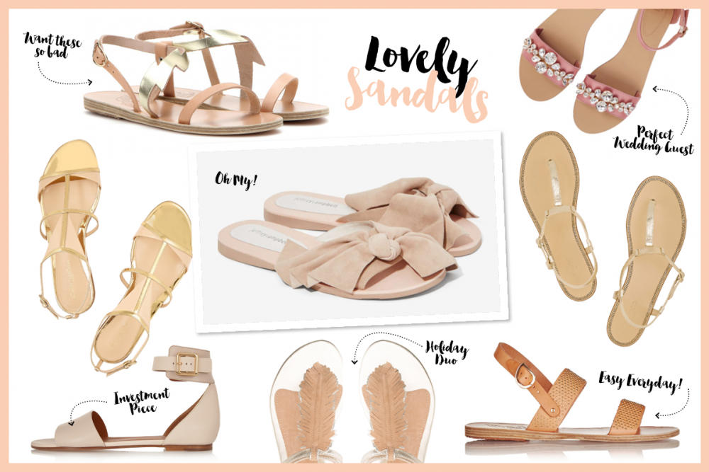Nude Summer Sandals / Foxycheeks