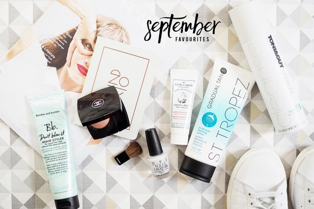 September Favourites 2015 /Foxycheeks