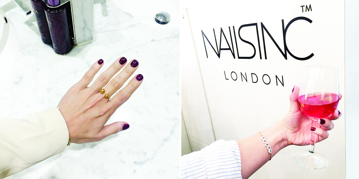Nails Inc. Nail Bar London / Foxycheeks