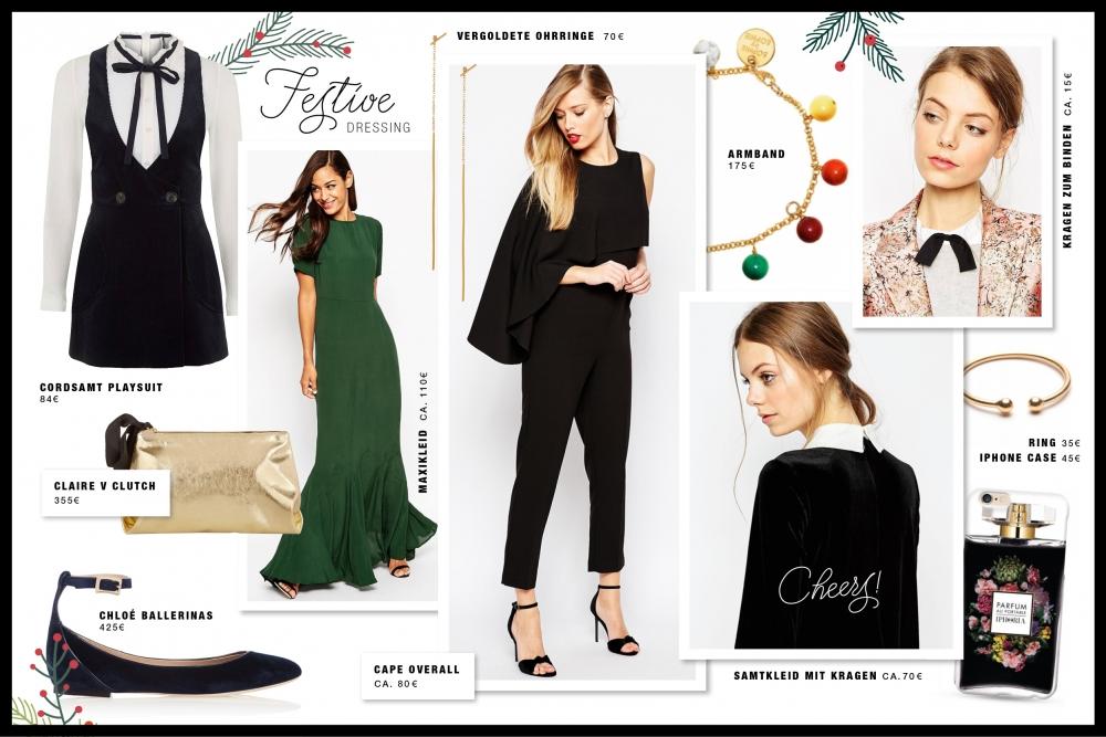 Festive Dressing Weihnachten / Foxycheeks