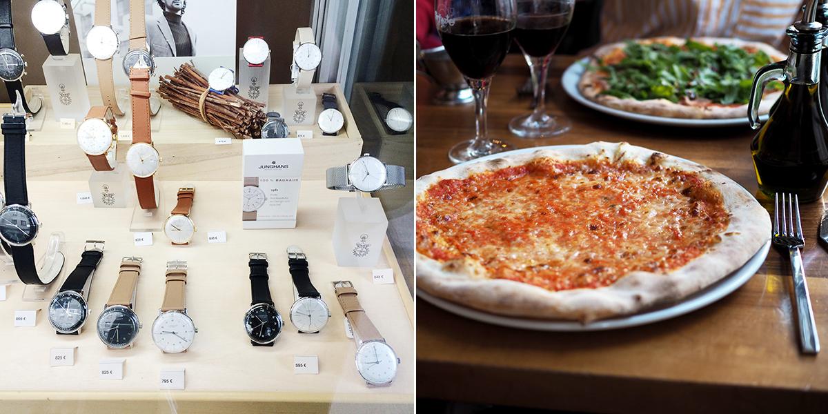 Junghans Uhren & Pizza Wien