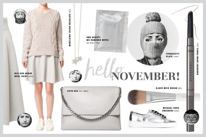Wishlist & Inspiration November /Foxycheeks