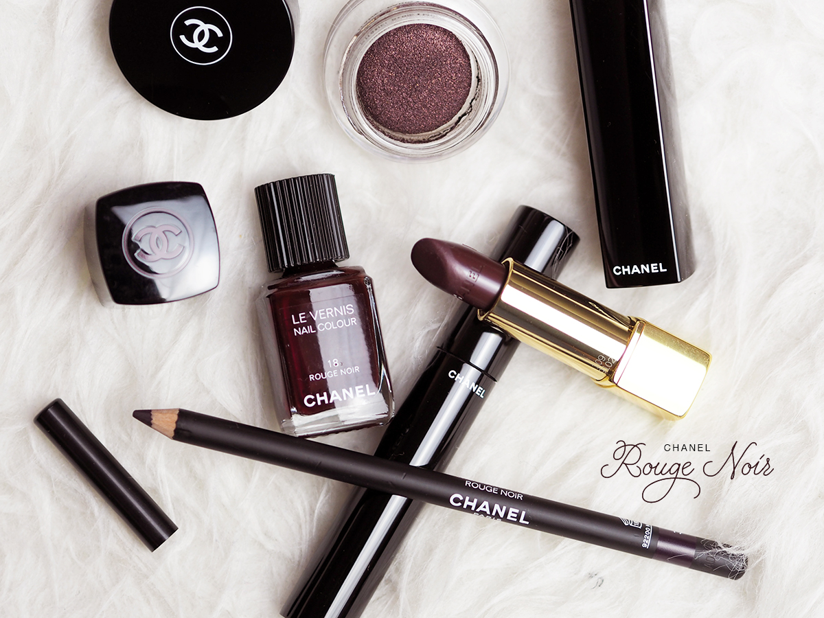 Chanel Rouge Noir / Foxycheeks