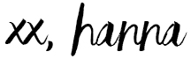 xx Hanna / Foxycheeks