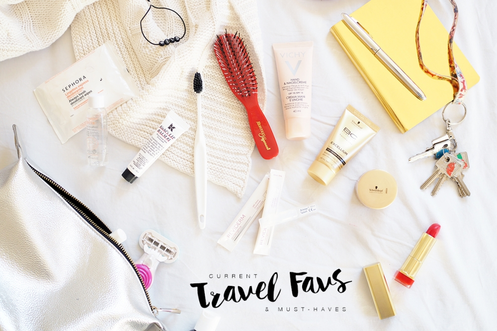 Beauty Travel Favs / Foxycheeks