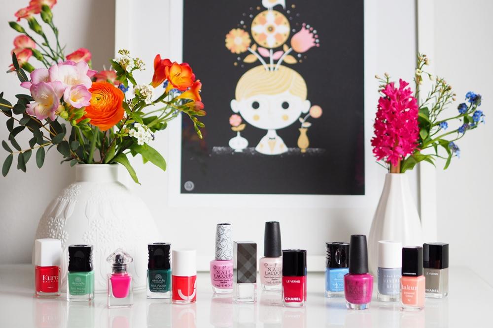 Spring Nailpolish / Beautyblog Foxycheeks