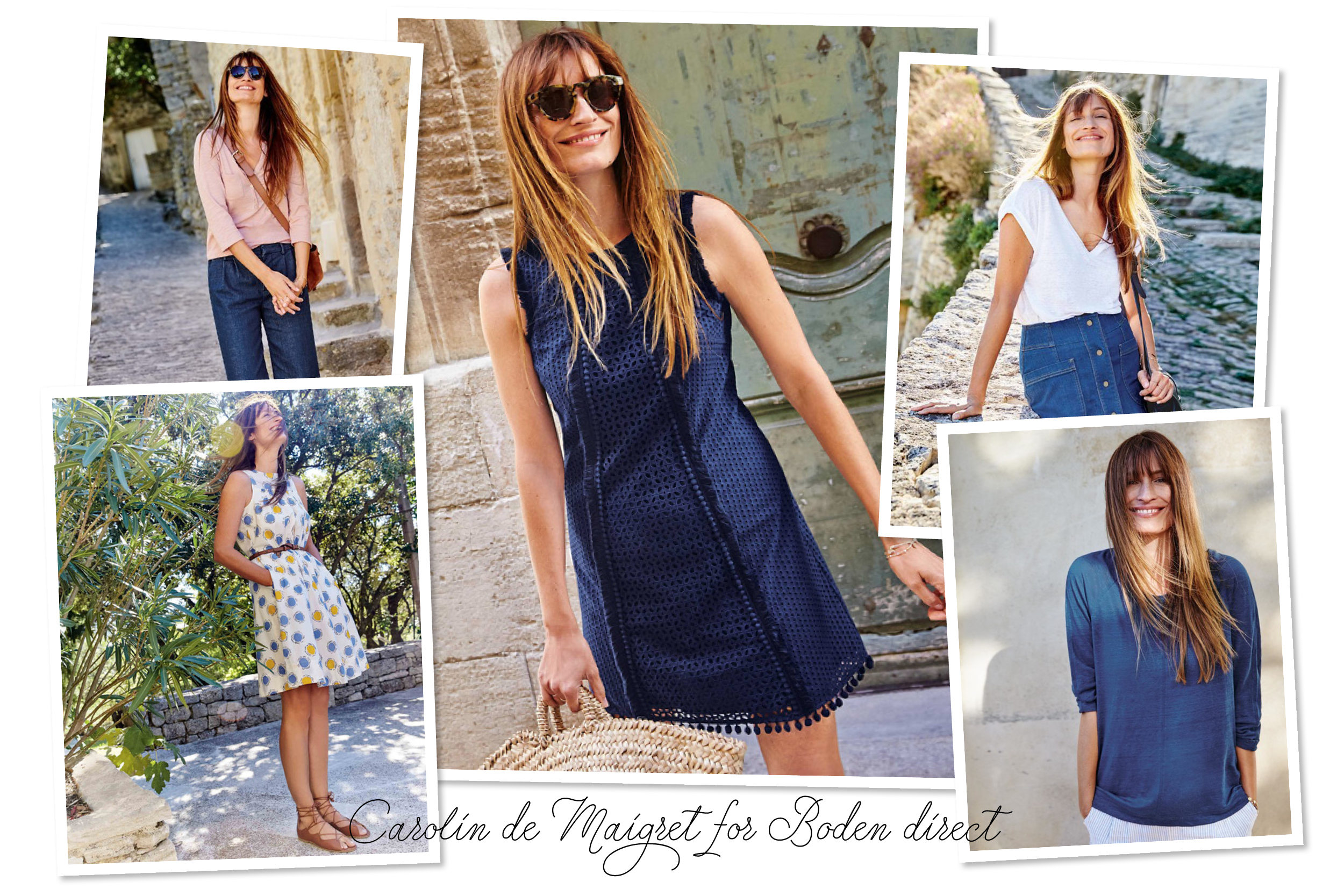 Boden direct X Carolin de Maigret