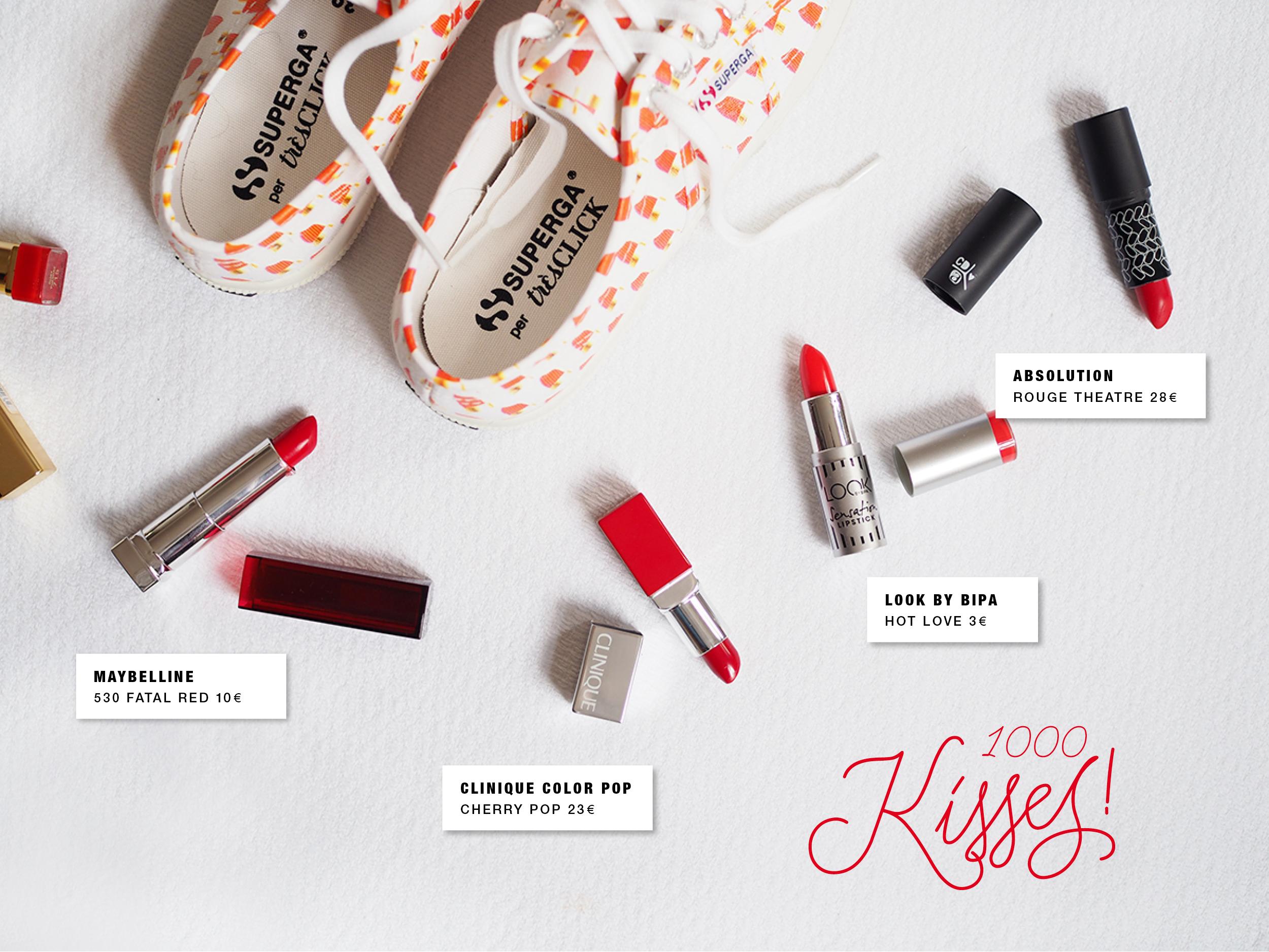 Superga X Trés Click / Lipsticks / Foxycheeks