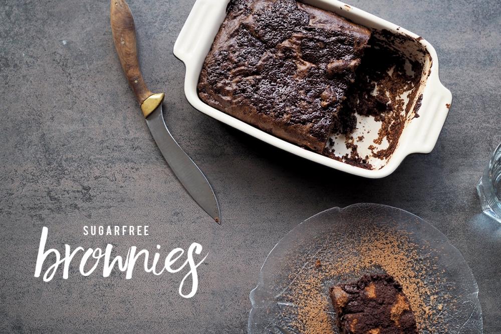 Zuckerfreie Brownies / Foxycheeks