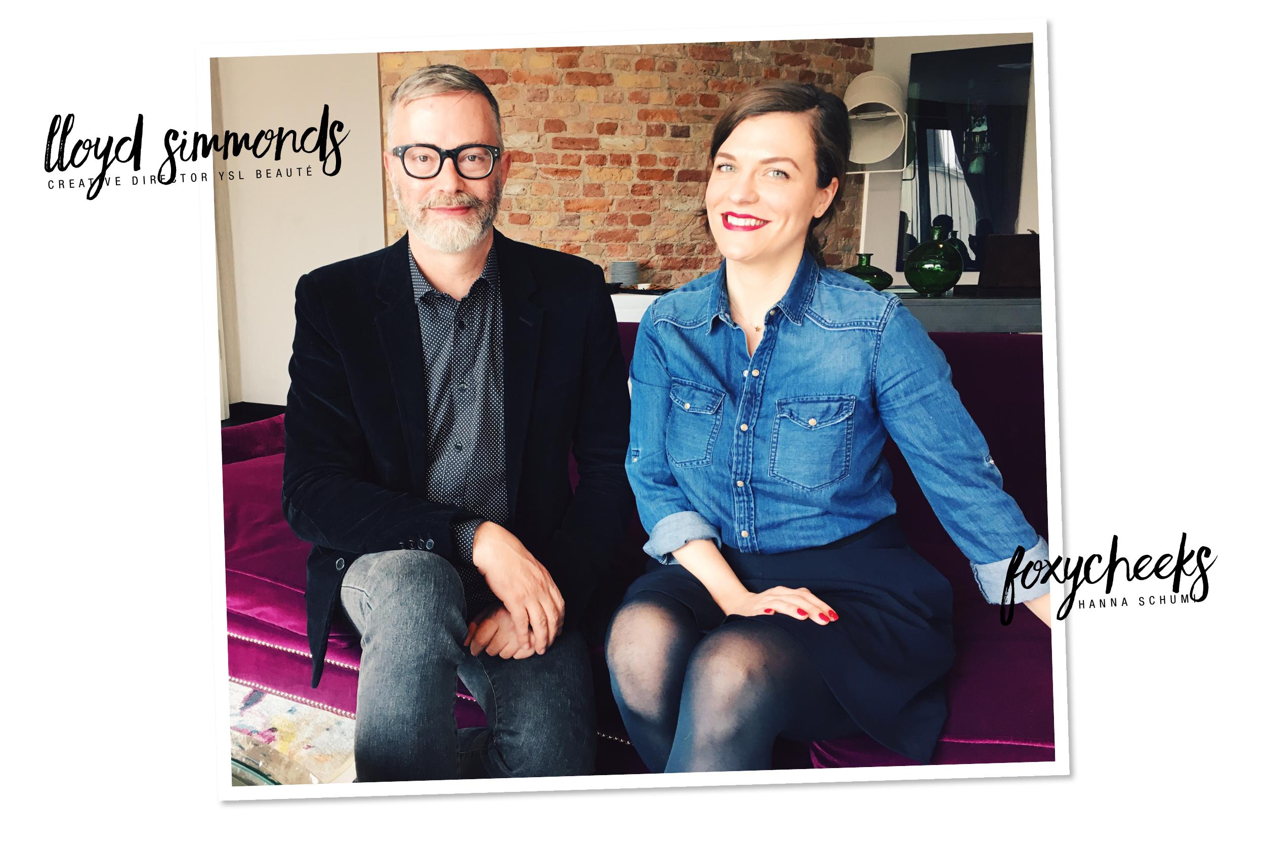 Lloyd Simmonds YSL Beauté / Foxycheeks Beautyblog