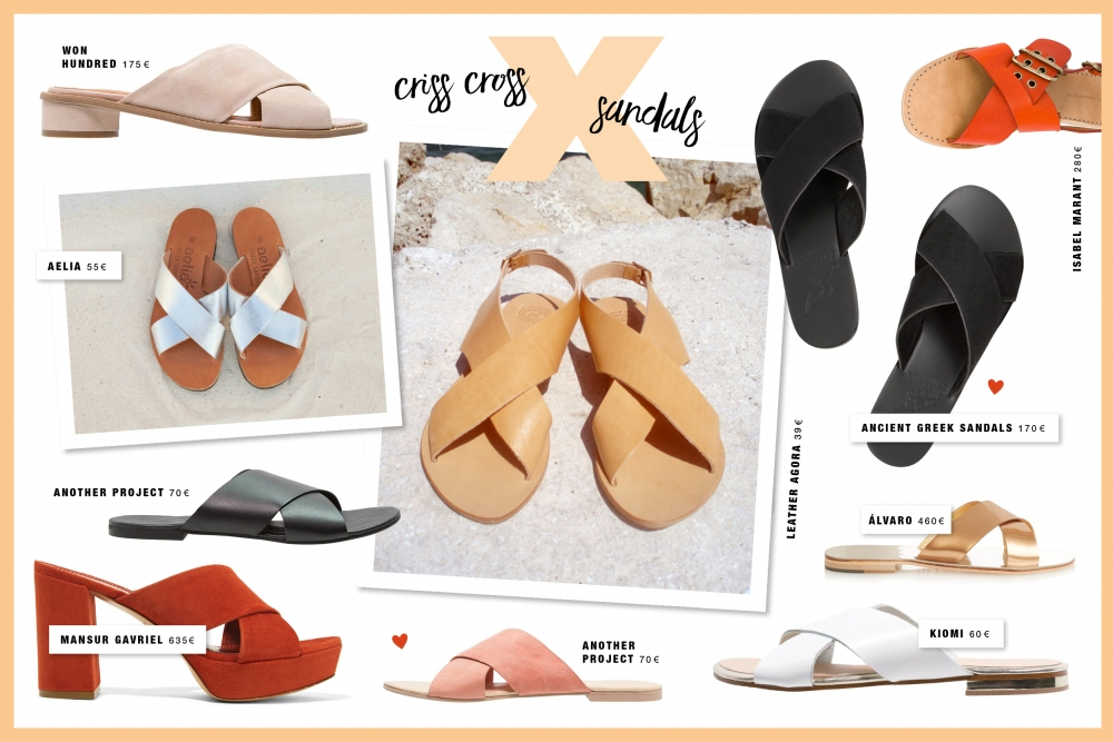 Criss Cross Sandals / Fashion / Foxycheeks