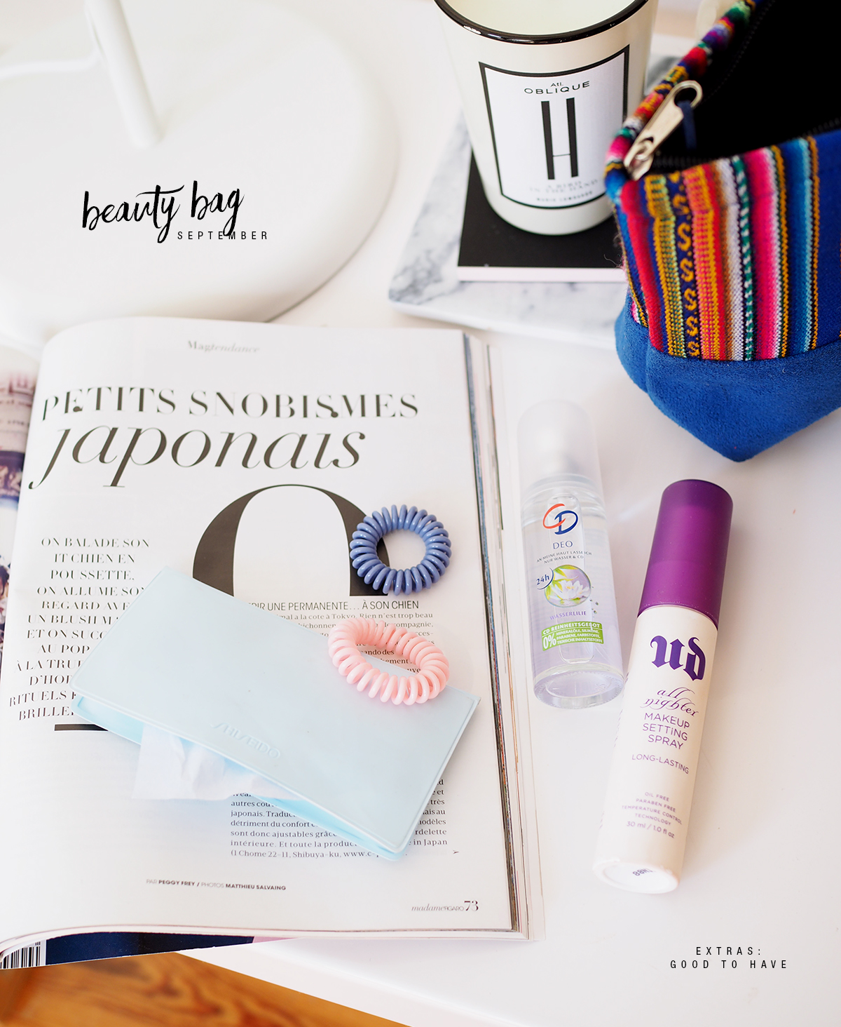 Beauty Bag September