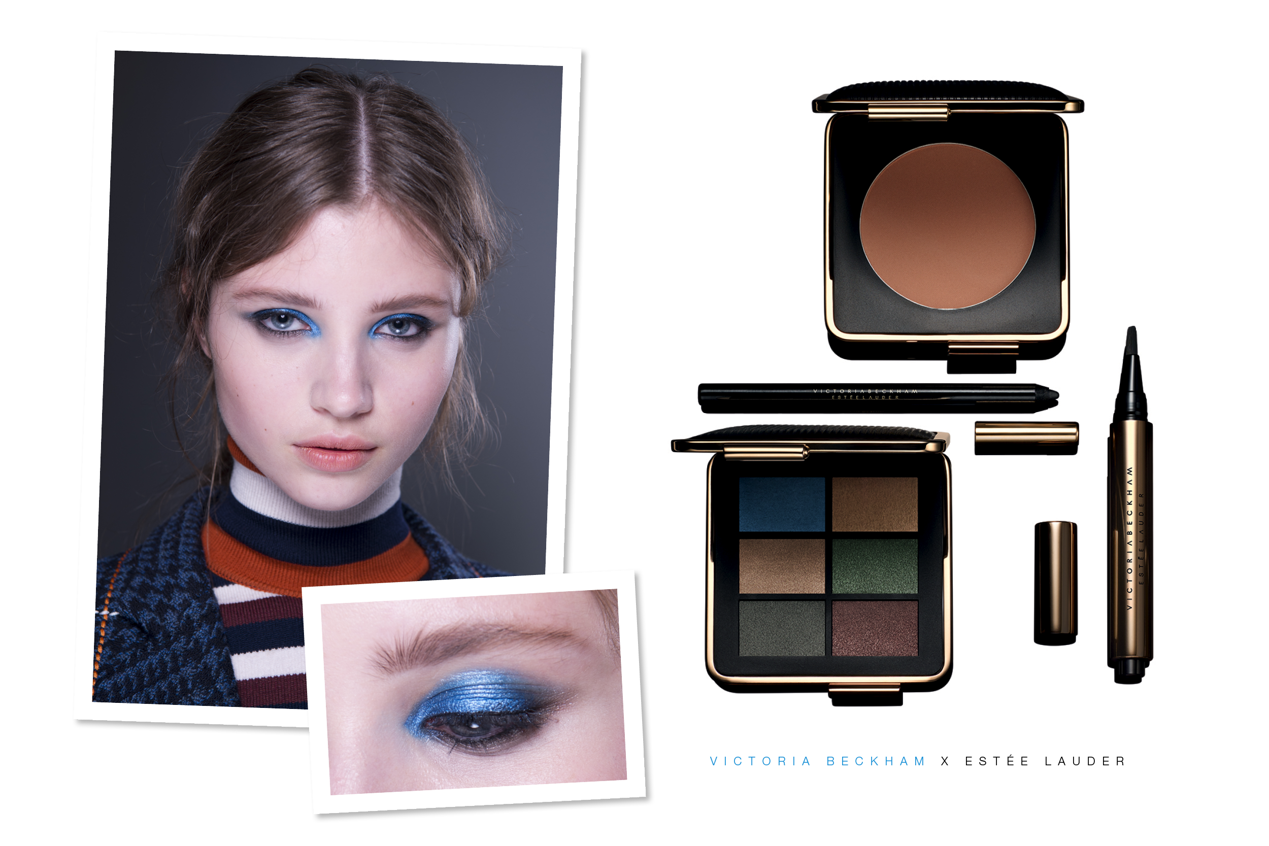 Victoria Beckham Make-up Estée Lauder / Foxycheeks