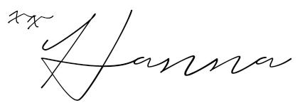 Hanna Signatur