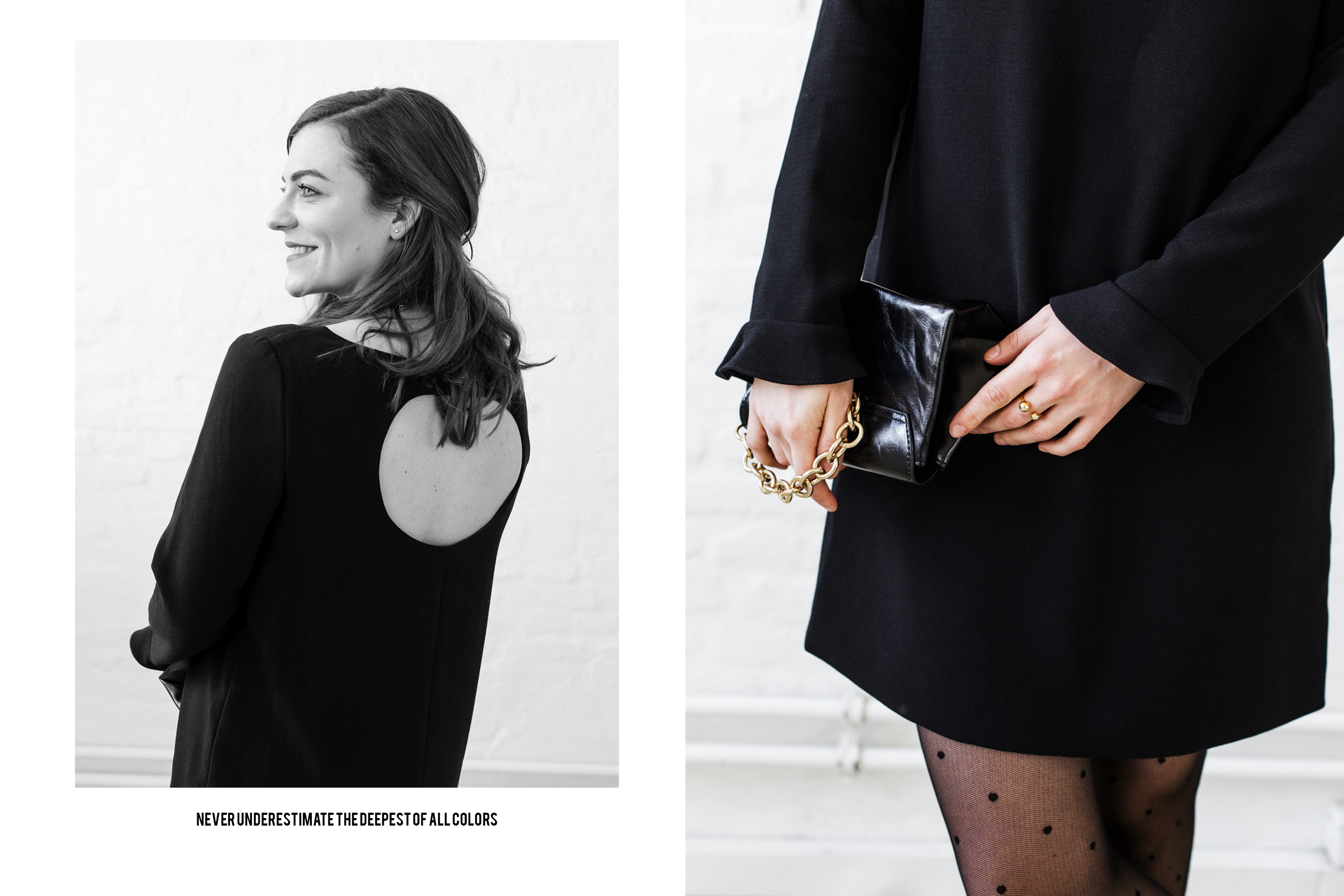 All Black Everything / Black Outfits / Foxycheeks Hanna Schumi