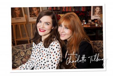 Meeting Charlotte Tilbury