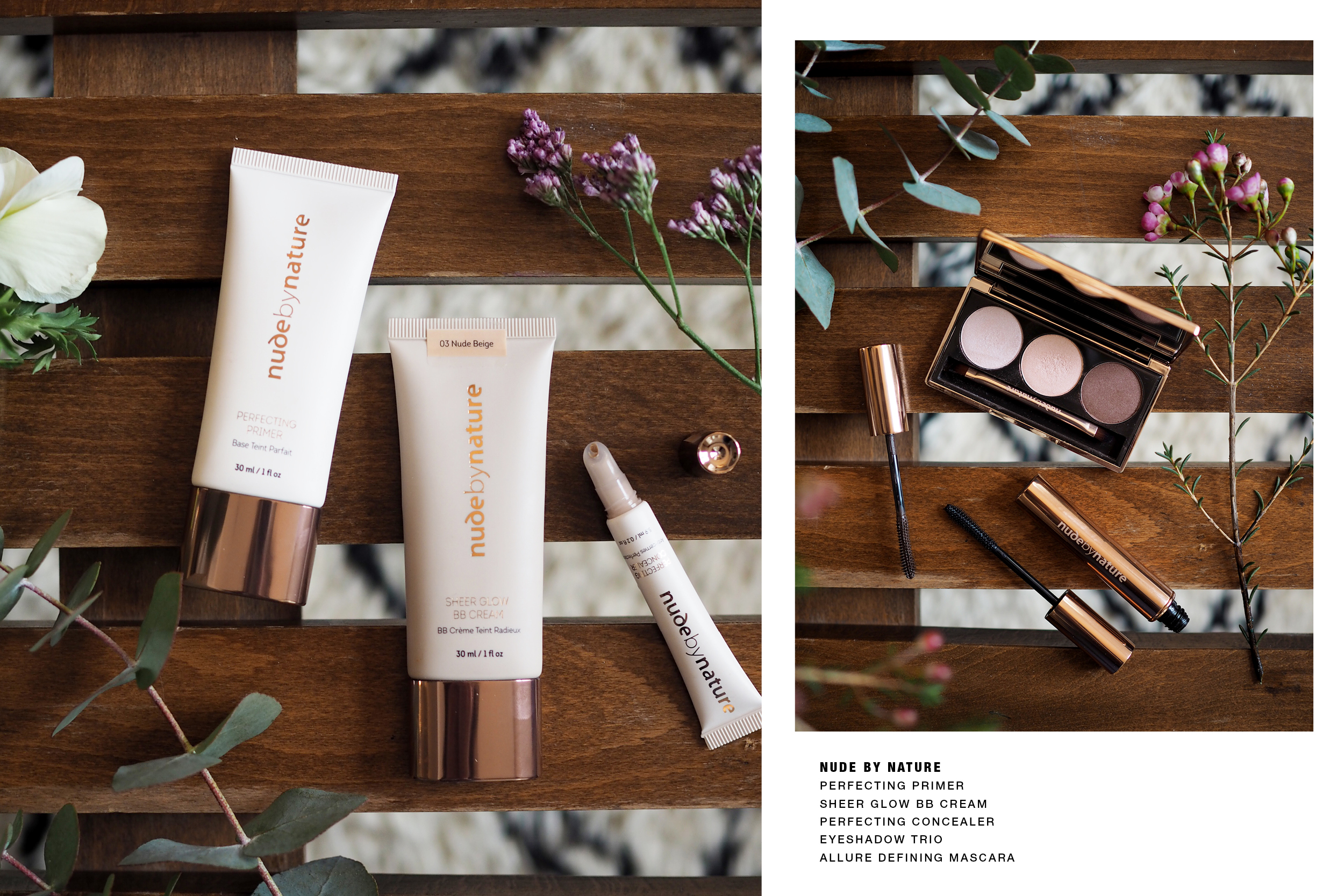 Nude by Nature BB Cream / Glow Look / Foxycheeks Hanna Schumi