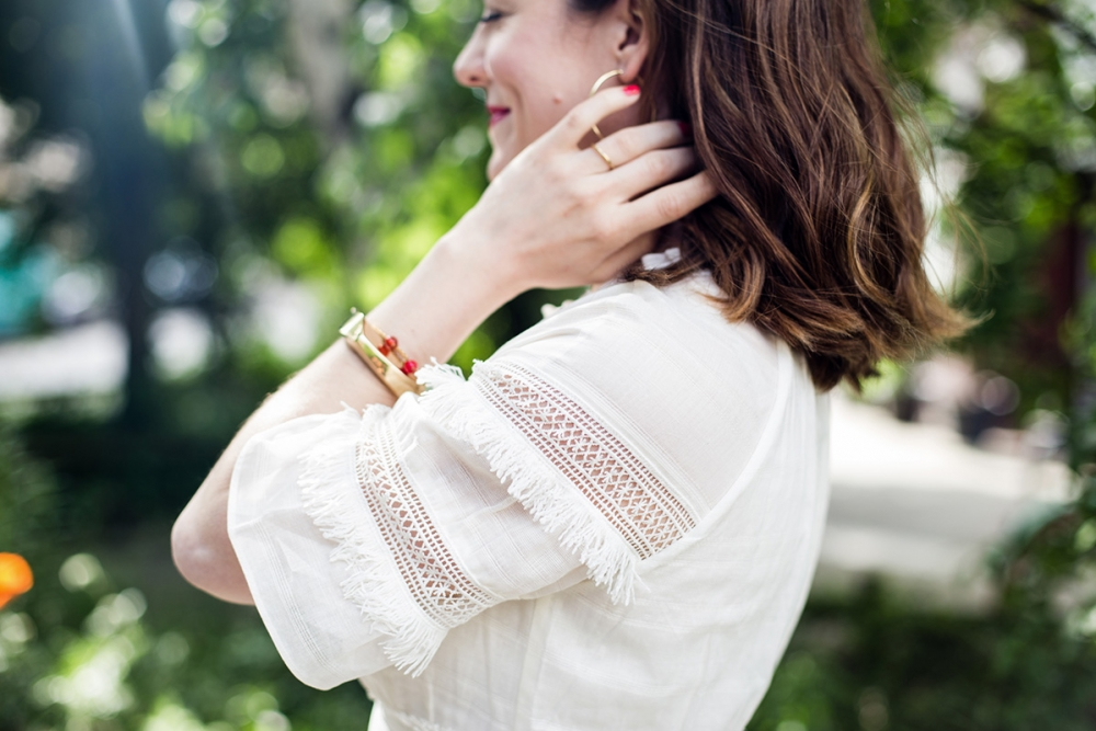 Sommerkleid / Beautyblog Foxycheeks Hanna Schumi