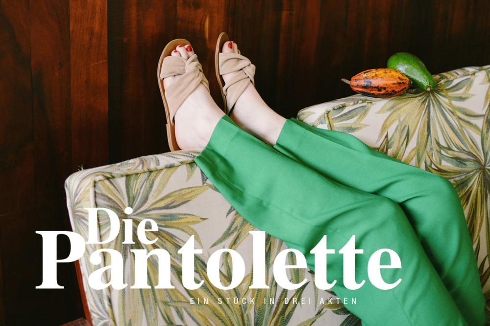 Pantolette / Schuhe / Sommersandale / Beauty Blog fashion Foxycheeks Hanna Schumi
