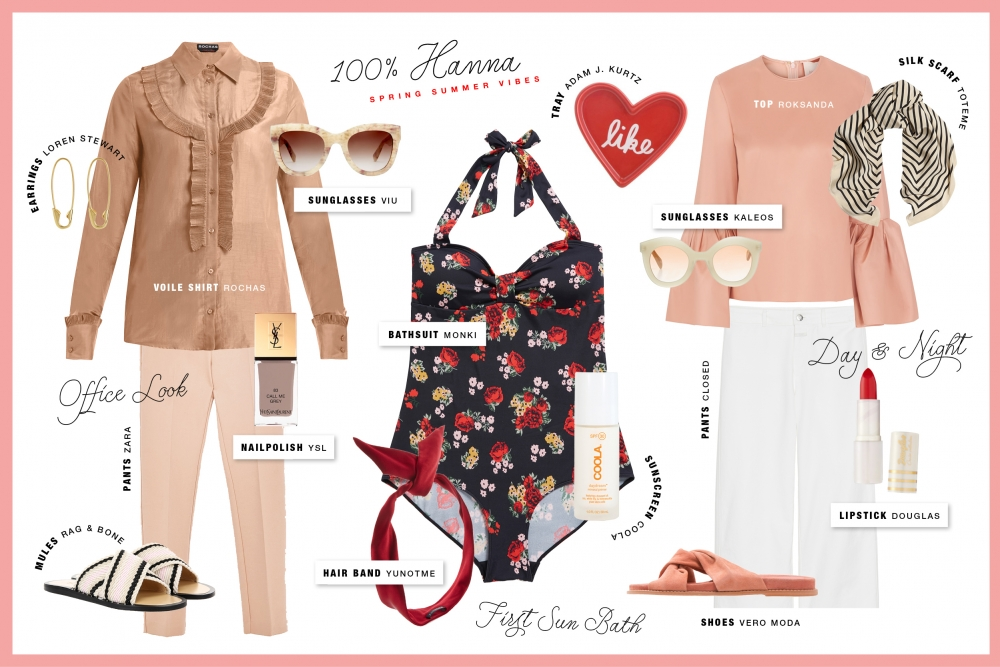 Summer Ready / Beauty Fashion Blog Foxycheeks Hanna Schumi