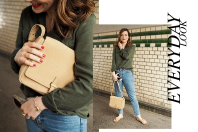 Everyday Outfit: Soft CamelBag