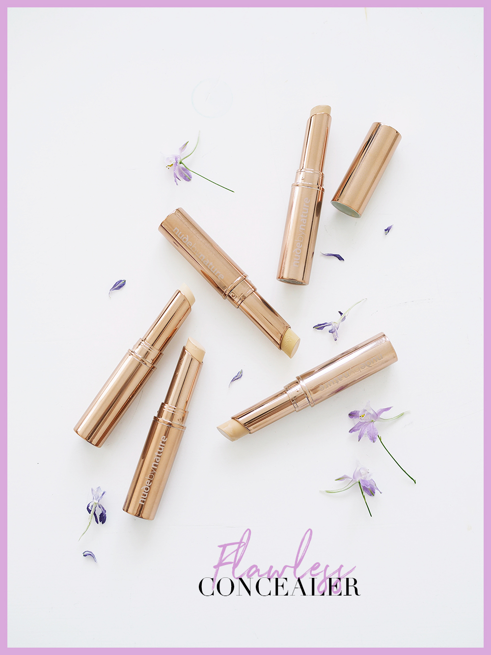 Flawless Liquid Foundation - Nude by Nature AU